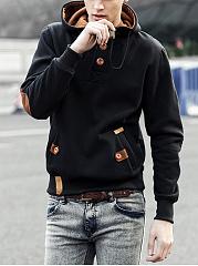 Decorative-Button-Pocket-Men-Hoodie