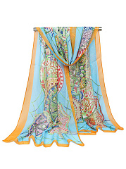 Boho Stylish Colorful Scarf