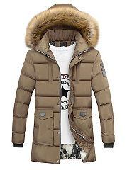Hooded-Flap-Pocket-Quilted-Men-Padded-Coat