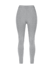 Mid-Rise Plain Legging
