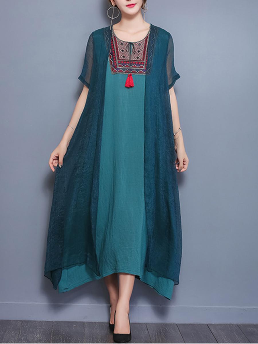 Hollow Out Maxi Dress