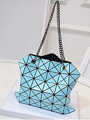 New Diamond Texture Fold Handbag