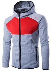 Hooded-Pocket-Color-Block-Letters-Men-Coat