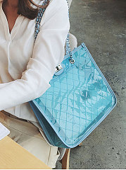 Luxury Plain Women Shoulder Bags