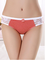 Sexy Lace-Trim  Non-Trace Seamfree Soft Panties