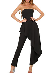 Strapless-Plain-Skirted-Slim-Leg-Jumpsuit