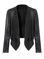 Pure-Black-Tassel-Modern-Lapel-Jacket