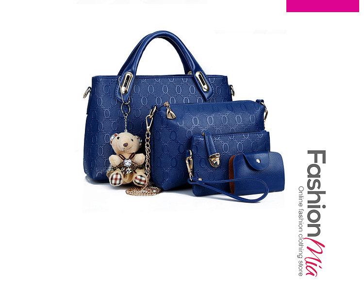 Four Pieces Tiddy Bear Shoudler Bags