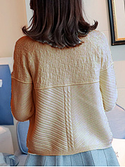 Diamante  Plain Knit Cardigans