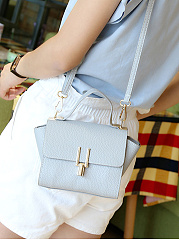 Plain Pu Mini Crossbody Bag