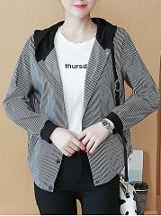Hooded-Pocket-Striped-Jacket