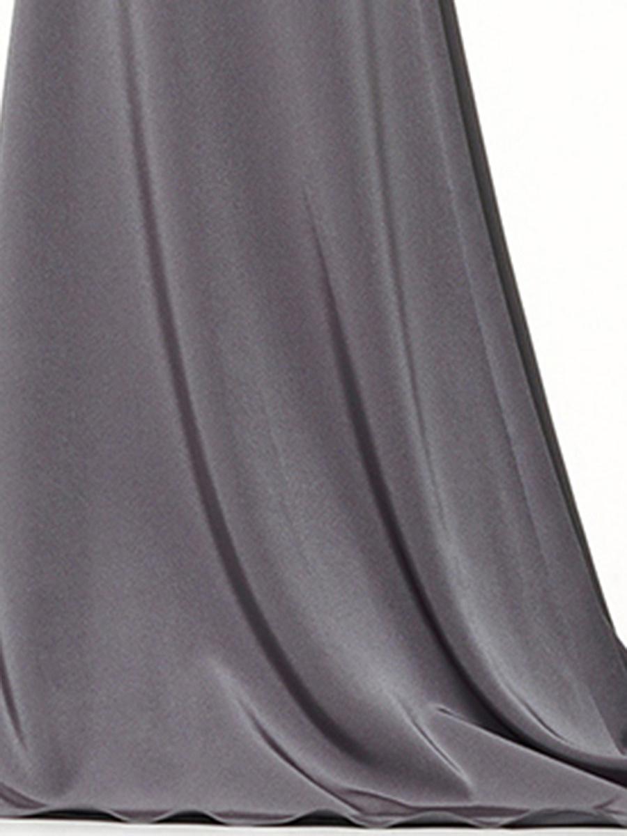 Halter  Patch Pocket  Plain Maxi Dress