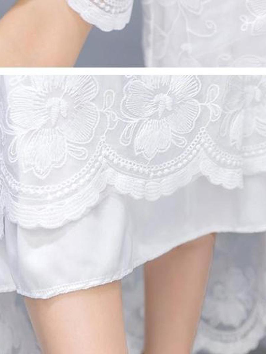 Asymmetric Neck  Plain Maxi Dress