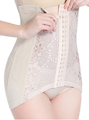 Lace Underwear Modeling Strap Belt Slimming Long Corset
