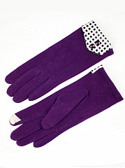 Fleece Knit Telefinger Gloves