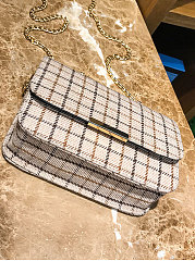Woolen Plaid Elegant Crossbody Bag For Women