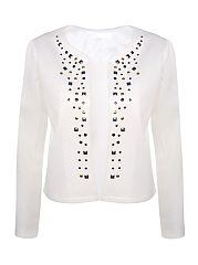 With-Rivet-Awesome-Round-Neck-Cardigan