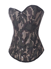 Sexy-Camouflage-Strapless-Bustier-Overbust-Corset-For-Women