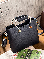 PU Plain Handbag Or Shoulder Bags