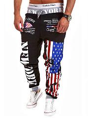 Stylish-US-Flag-Printed-Mens-Casual-Jogger-Pants