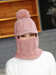 Lady Korea Style Fashion Warm Knitted Hats For Winter