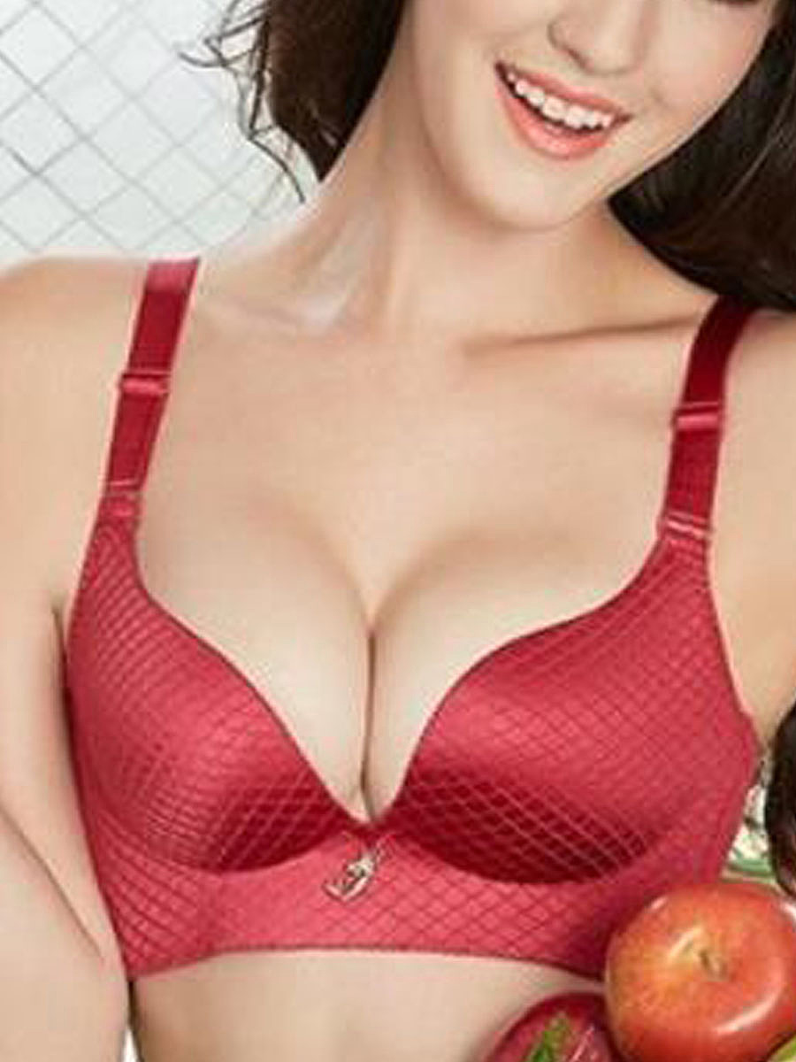 Sexy Push Up Fulll Coverage Adjustable Soft Bras