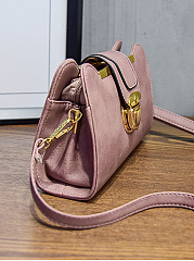PU Plain Shoulder Bags