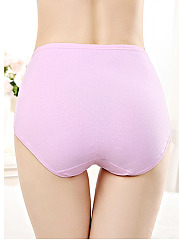High Waisted Non-Trace  Fitness Cotton Panties