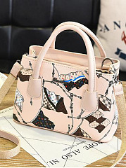 New Personality Fashion Print Hand Bag