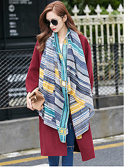 Korea Style Hot Retro Print Scarf