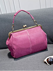 Luxury Decrotive Hardware Women Hand Bags
