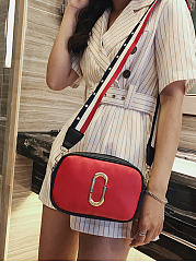 Color Block Casual Crossbody Bag