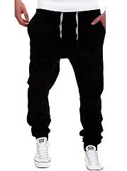 Plain-Pocket-Slim-Leg-Mens-Casual-Pants