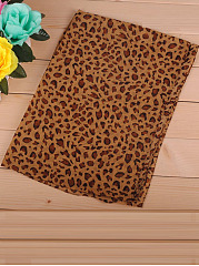 Gorgeous Leopard Chiffon Long Scarf