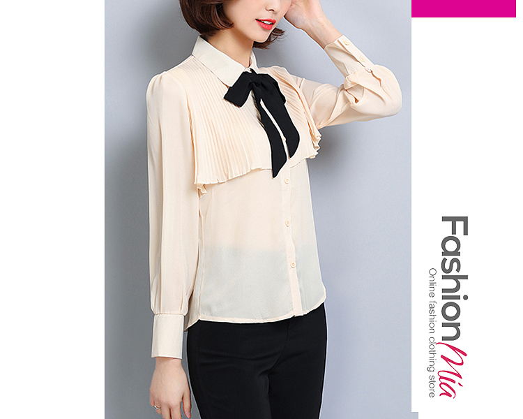 sleeve_length:s:57.5,m:58.5,l:59.5,xl:60.5,xxl:61.5, sleeve:long sleeve, material:chiffon, pattern_type:hollow out, occasion:office, collar&neckline:turn down collar, season:autumn*spring, shoulder:33,bust:91,length:57.5,