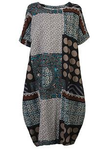 Cotton Plus Size Maxi Dresses