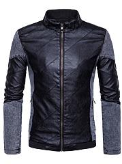 Band-Collar-Patchwork-Color-Block-Men-Jacket
