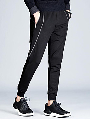 Plain-Zips-Pocket-Mens-Casual-Jogger-Pants