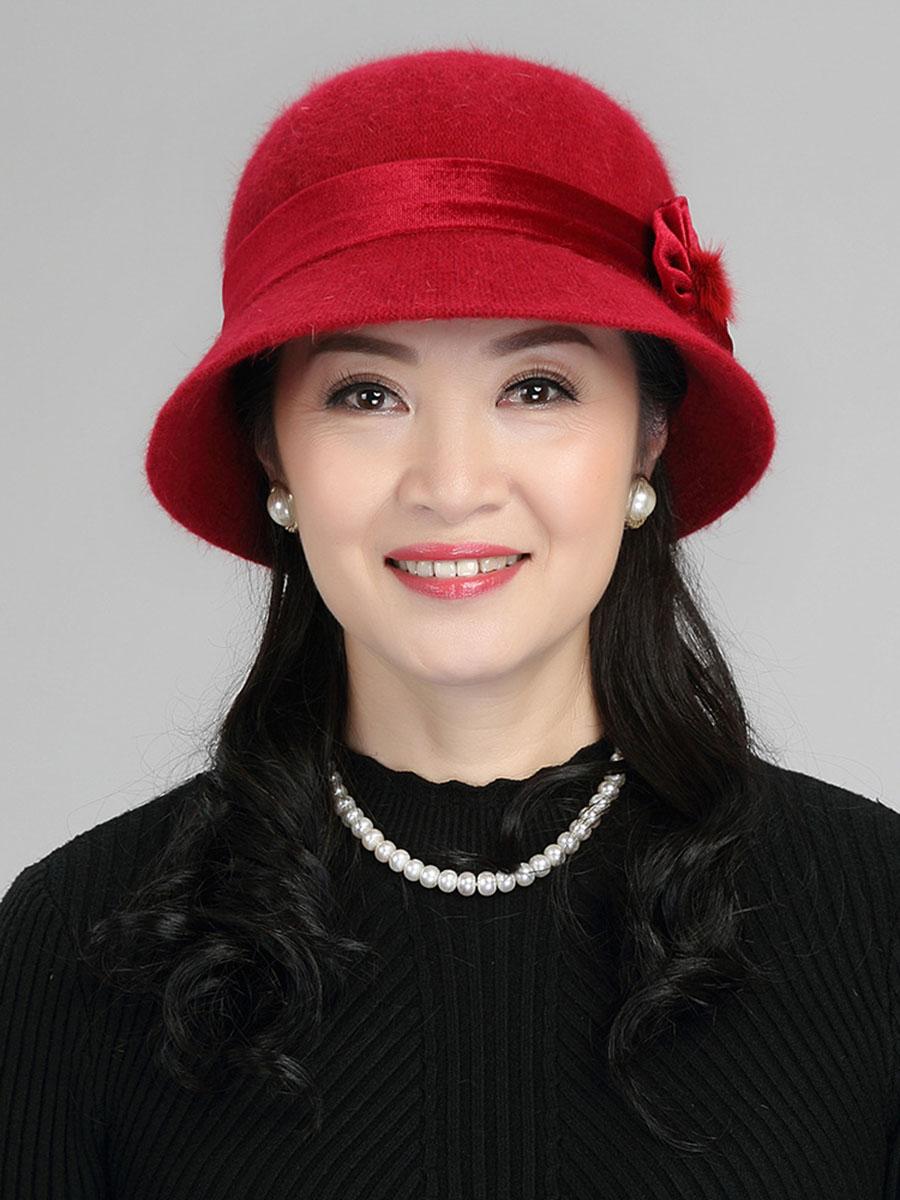 Fashion Plain Hats For Lady