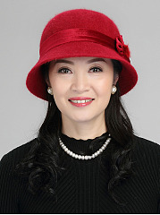 Fashion Plain Hats For Lady