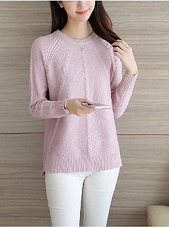 Long Sleeve Fashion Elegant Sweater