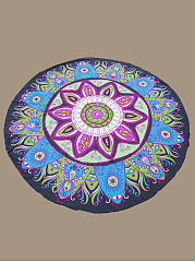 Brilliant Printed Round Beach Shawl