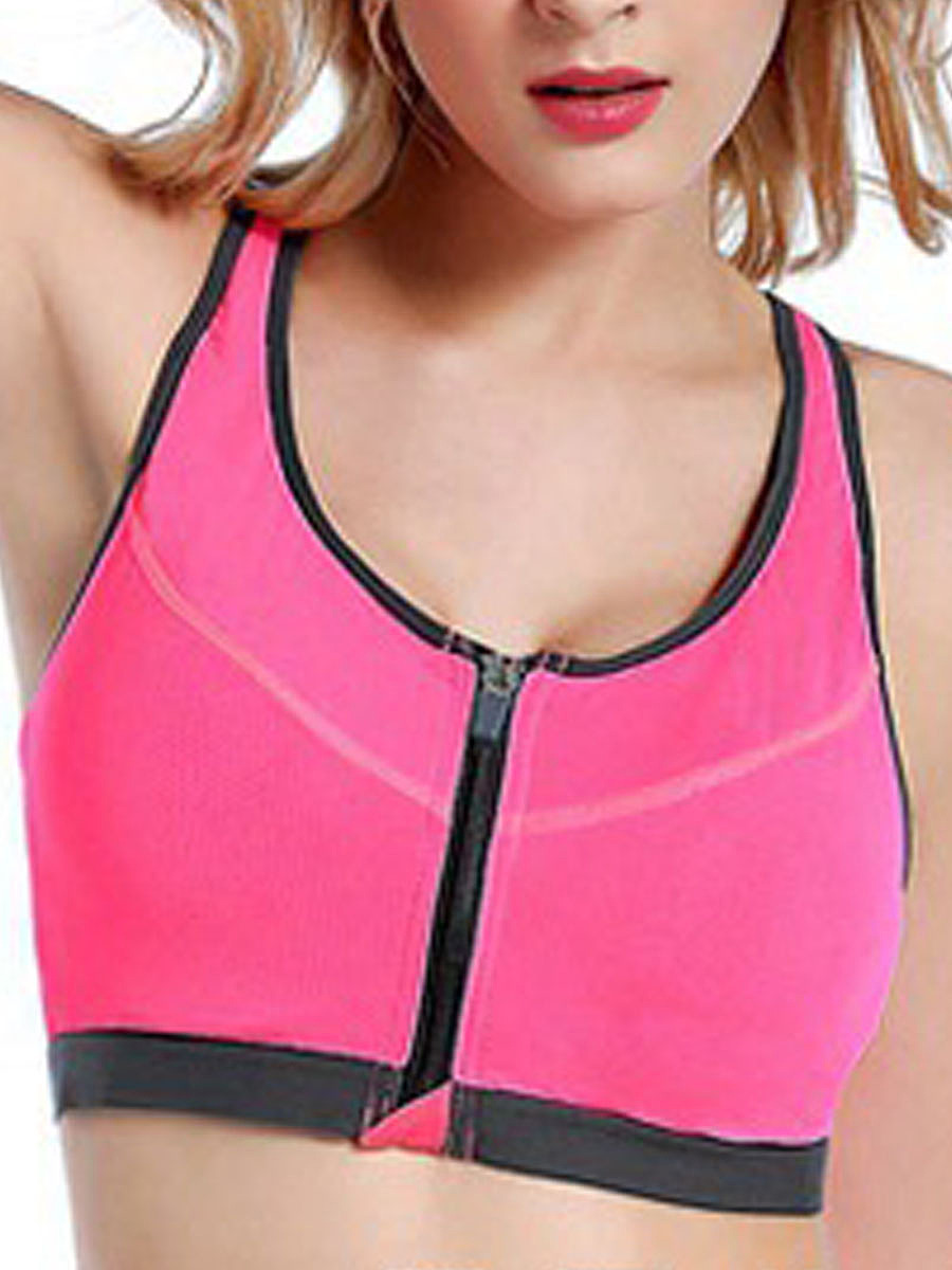 Professional Front-Closure Wireless Comfortable Sports Bra
