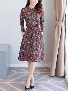 Printed Sleeveless Pleated V Neck Maxi Dress sequin homecoming dillards