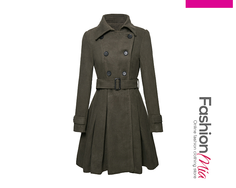 gender:women, hooded:no, thickness:regular, brand_name:fashionmia, style:casual,fashion, material:wool-like, collar&neckline:fold-over collar, sleeve:long sleeve, embellishment:double breasted, more_details:belt, pattern_type:plain, how_to_wash:cold gentle machine wash, occasion:casual, season:winter, package_included:belt*1,top*1, lengthshouldersleeve lengthbust