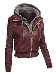 Delightful-Stylish-Color-Block-Hooded-Jackets