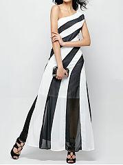 Blended-Assorted-Colors-Evening-Dress