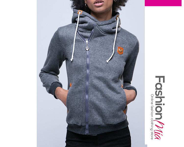 gender:women, hooded:yes, thickness:regular, brand_name:fashionmia, style:elegant,fashion,japan & korear, material:blend, collar&neckline:hooded, sleeve:long sleeve, embellishment:zips, pattern_type:plain, supplementary_matters:all dimensions are measured manually with a deviation of 2 to 4cm., occasion:basic,daily,date, season:autumn,winter, package_included:top*1, lengthshouldersleeve lengthbust