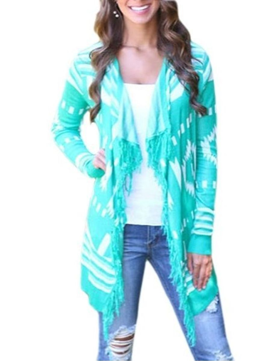 Assorted Colors Stylish Lapel Cardigan