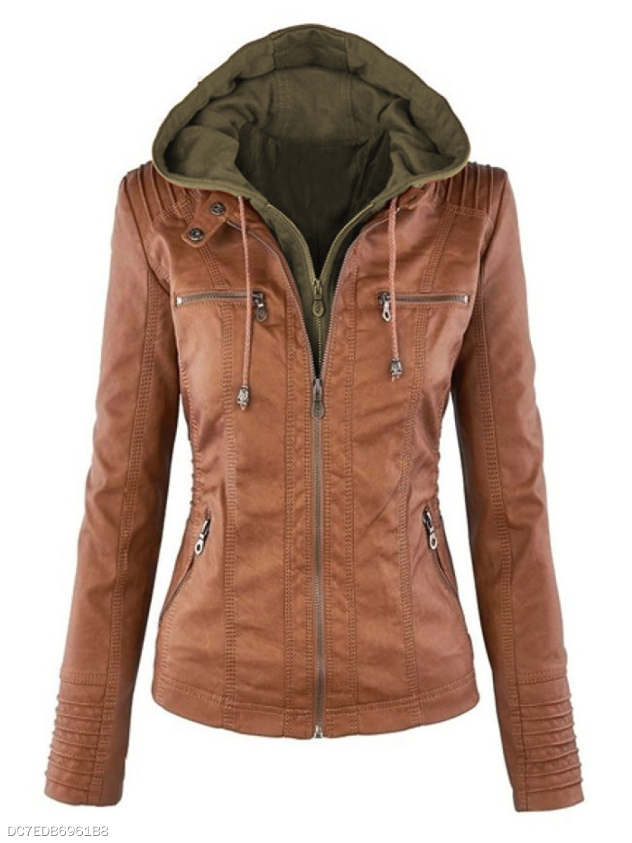 Remarkable Hooded Stylish Absorbing Plain Jackets
